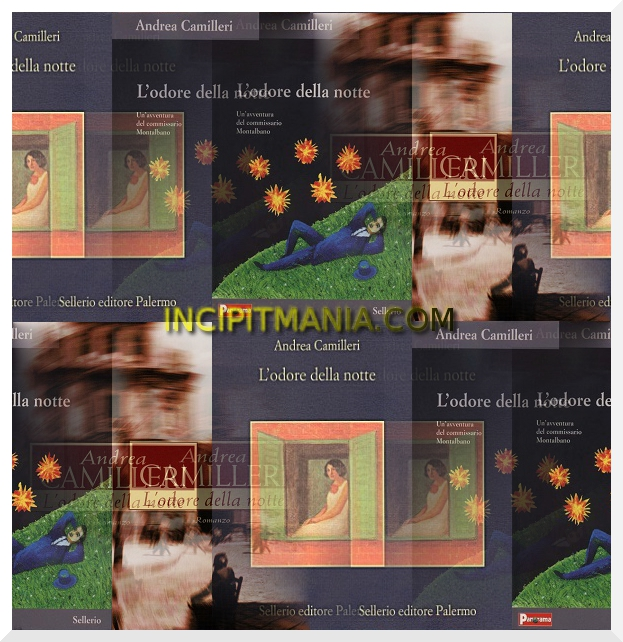 Copertine di L'odore della notte di Andrea Camilleri