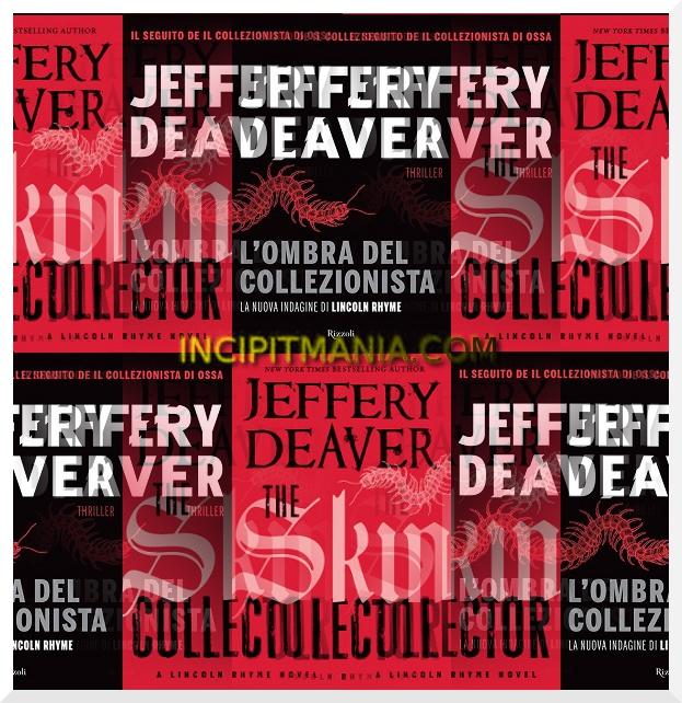Copertine di L'ombra del collezionista di Jeffery Deaver