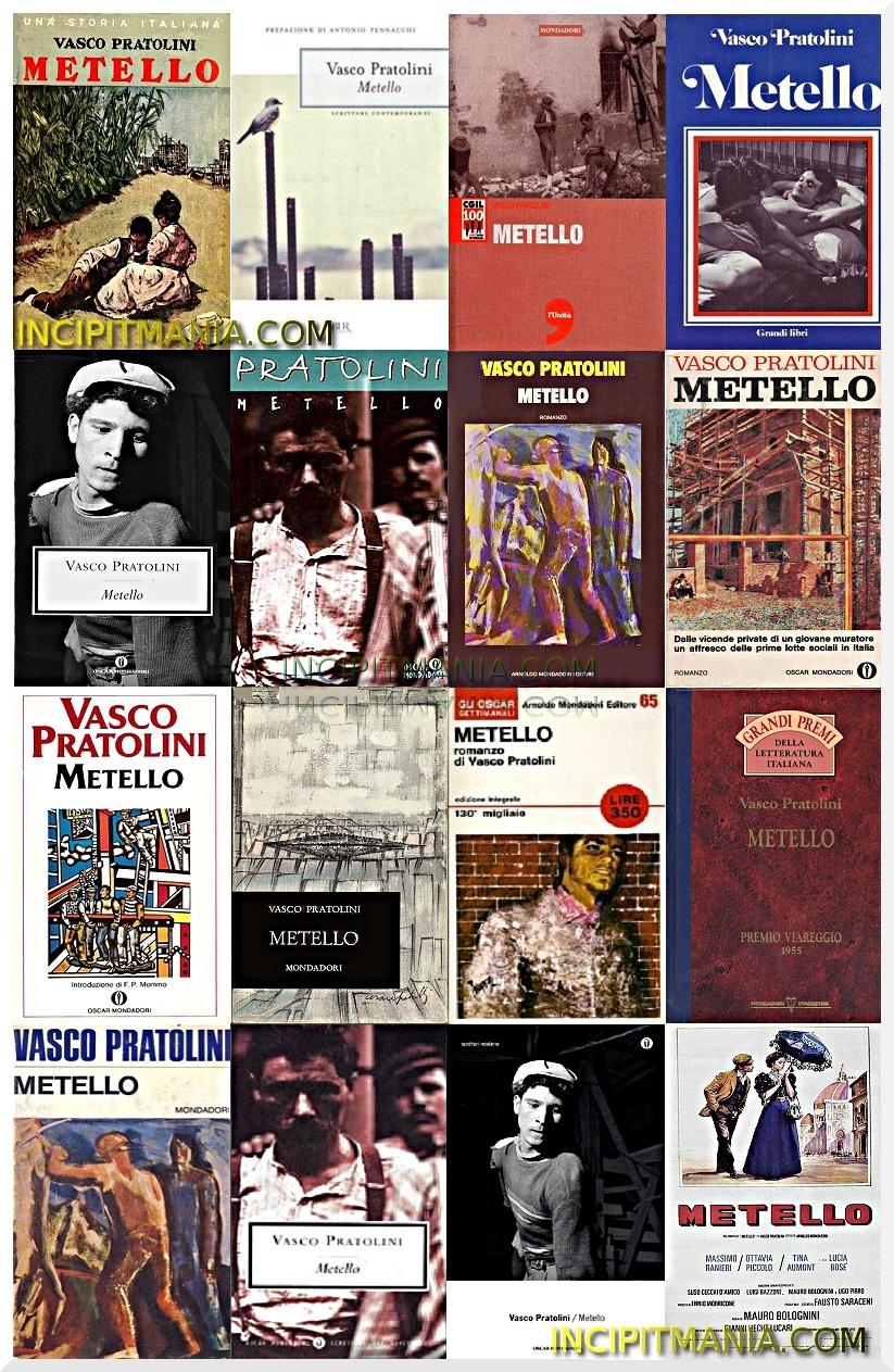 Copertine di Metello di Vasco Pratolini