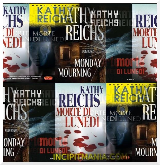 Copertine di Morte di lunedì di Kathy Reichs