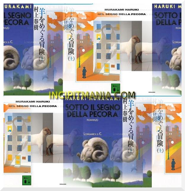 Copertina di Nel segno della pecora di Haruki Murakami