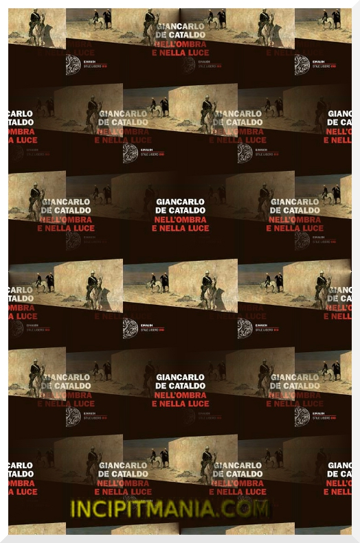 Copertina di Nell'ombra e nella luce di Giancarlo De Cataldo