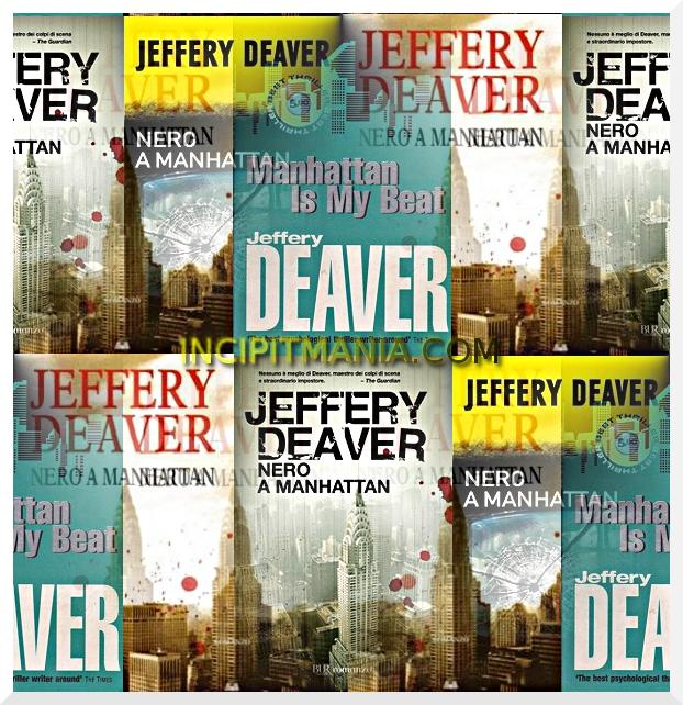 Copertine di Nero a Manhattan di Jeffery Deaver