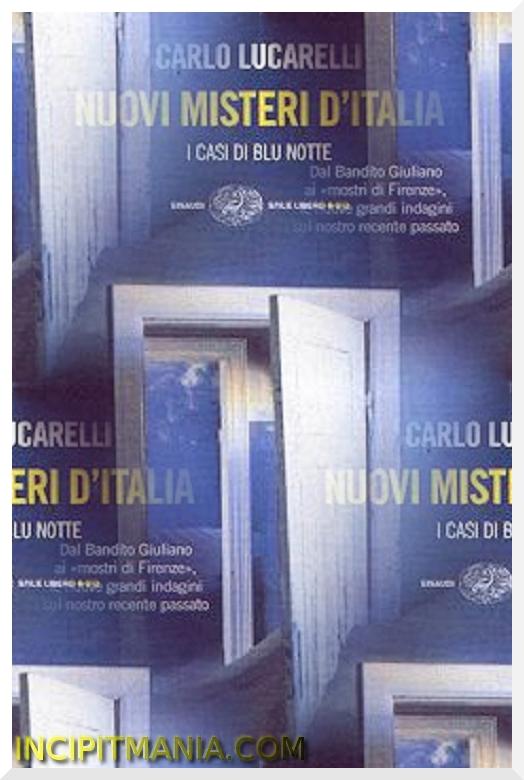 Copertina di Nuovi misteri d'Italia di Carlo Lucarelli