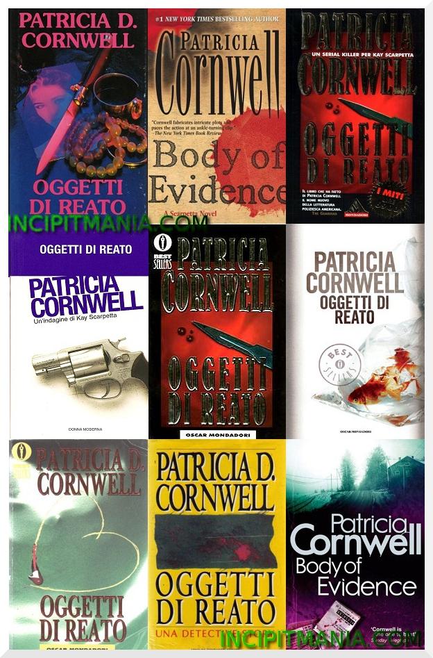 Oggetti di reato di Patricia Cornwell