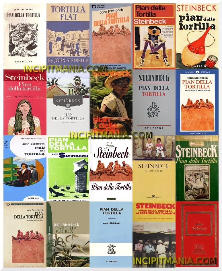 Copertine di Pian della Tortilla di John Steinbeck