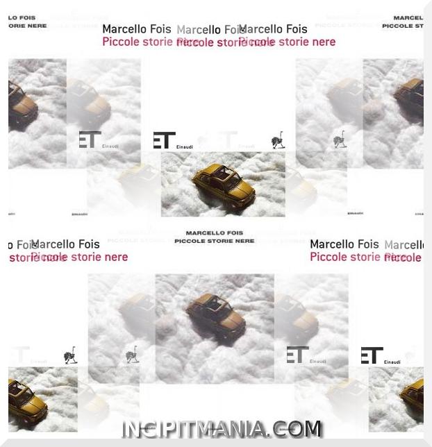 Piccole storie nere di Marcello Fois