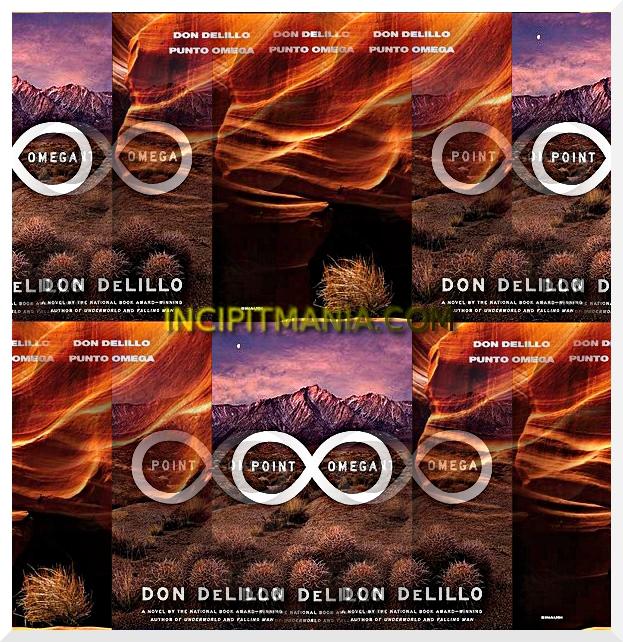 Copertine di Punto Omega di Don DeLillo