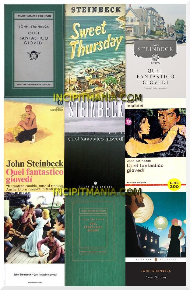 Copertine di Quel fantastico giovedì di John Steinbeck