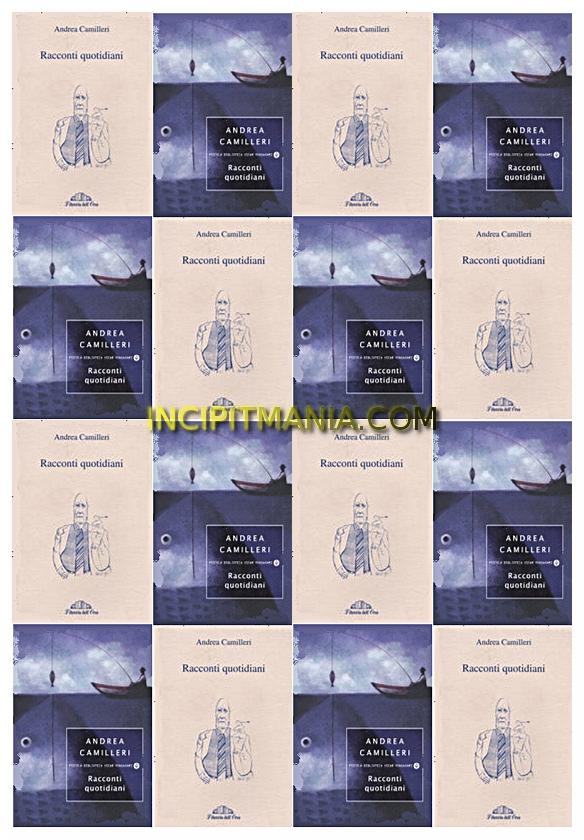 Copertine di Racconti quotidiani di Andrea Camilleri