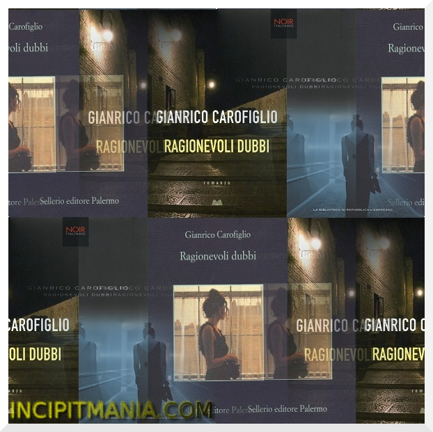 Copertine di Ragionevoli dubbi di Gianrico Carofiglio