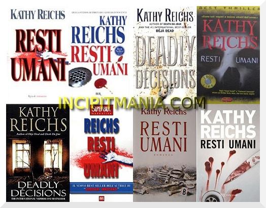 Copertine di Resti umani di Kathy Reichs
