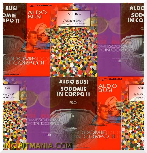 Sodomie in corpo 11 di Aldo Busi