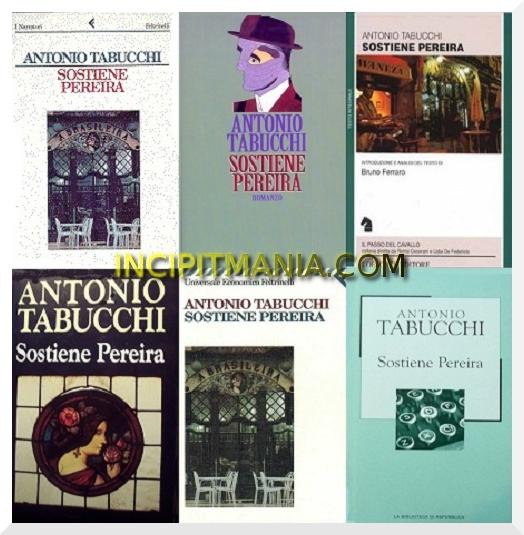 Copertine di Sostiene Pereira di Antonio Tabucchi