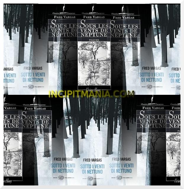 Copertine di Sotto i venti di Nettuno di Fred Vergas