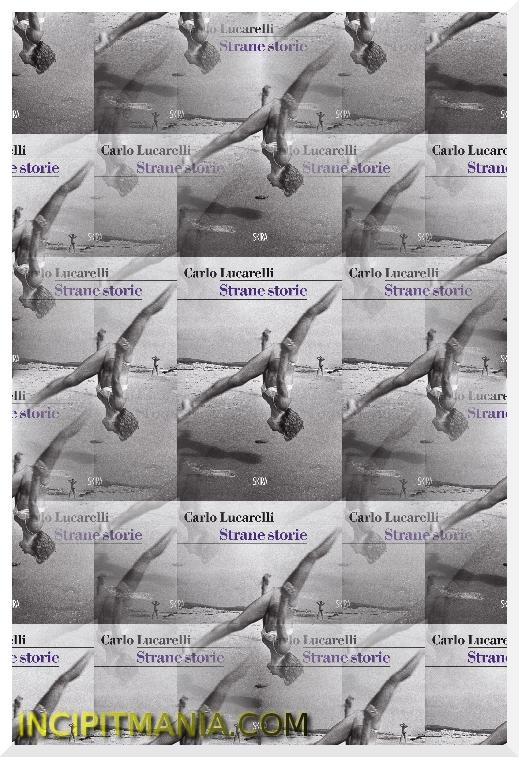 Copertina di Strane storie di Carlo Lucarelli