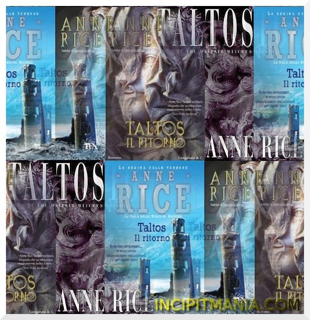 Copertine di Taltos il ritorno di Anne Rice
