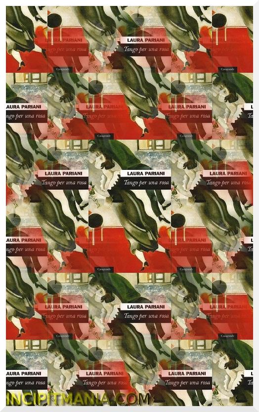 Copertina di Tango per una rosa di Laura Pariani