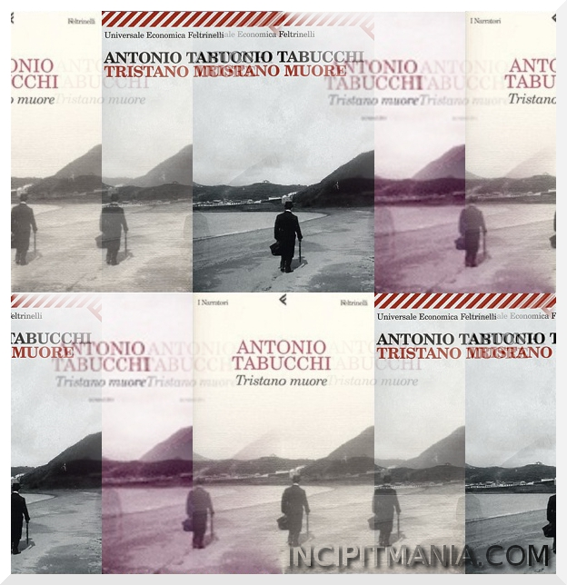 Tristano muore - Antonio Tabucchi