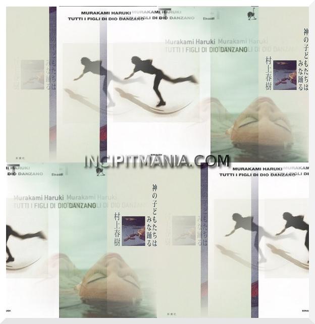 Copertine di Tutti i figli di Dio danzano di Haruki Murakami
