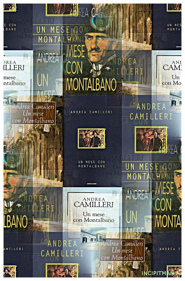 Copertine di Un mese con Montalbano di Andrea Camilleri
