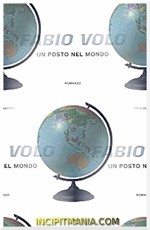 Copertina di Un posto nel mondo di Fabio Volo