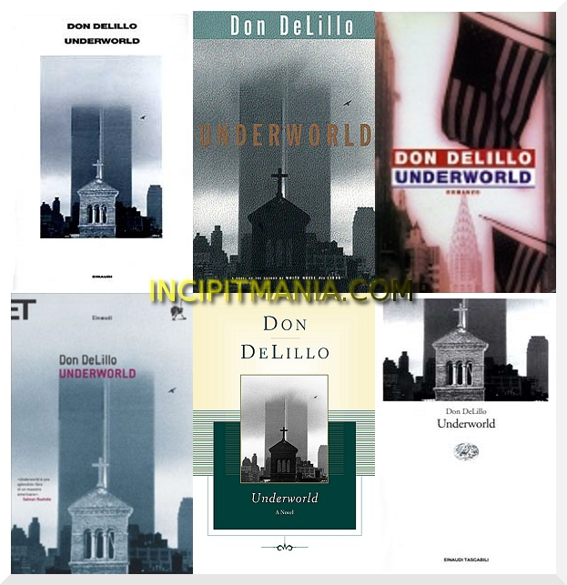 Copertine di Underworld di Don DeLillo