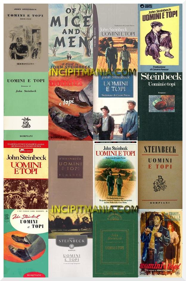 Copertine di Uomini e Topi di John Steinbeck