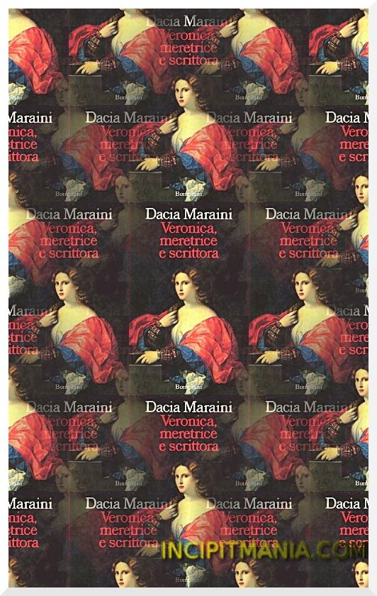 Copertina Veronica meritrice e scrittora di Dacia Maraini