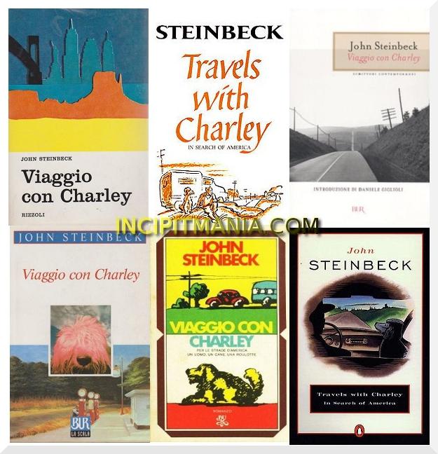 Copertine di Viaggio con Charley di John Steinbeck