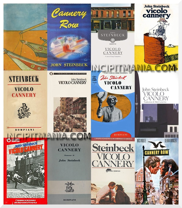 Vicolo Cannery - John Steinbeck