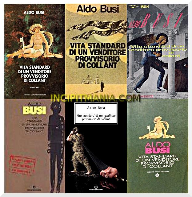 Copertine di Vita standard di un venditore provvisorio di collant di Aldo Busi
