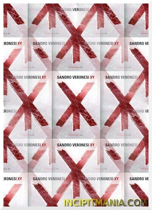 Copertina di XY di Sandro Veronesi