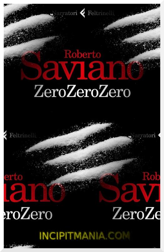 Copertina di ZeroZeroZero di Roberto Saviano